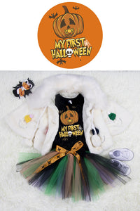 Halloween pumpkin Clothing Sets(pre-order)