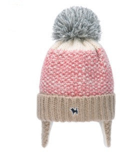 Winter Color Gradient Baby Wool Hat