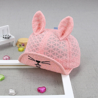 I Love Mama™   Baby / Toddler 3D Rabbit Ears Net Surface Breathable Cap