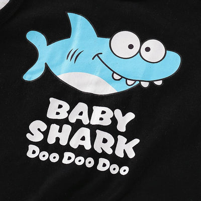Baby / Toddler BABY SHARK Tank and Casual Shark Shorts Set  4/16/19/1