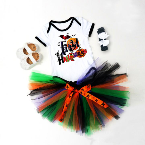 Halloween theme 4pcs suit Pre-Order