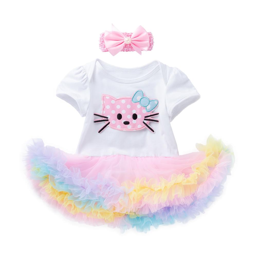Arlene's Design (Solid Cute Cat)_Romper Dress Suit