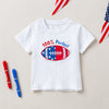 Patriotic Matching T-Shirts with Embroidery