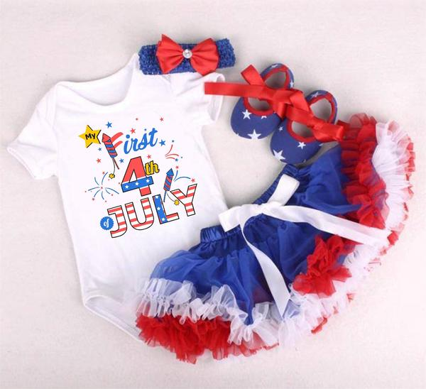 "I Love Mama™ ""My First 4th of July"" Design"