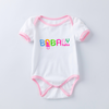 Logo design onesie with Embroidery
