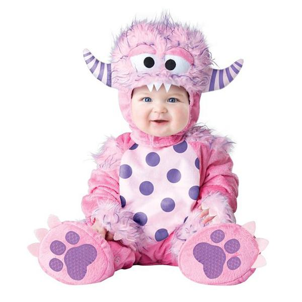 Pink Goat Kids Baby Goat Animal Cosplay Costume for Halloween and Purim Festival Holiday Performance Baby Clothing Rompers