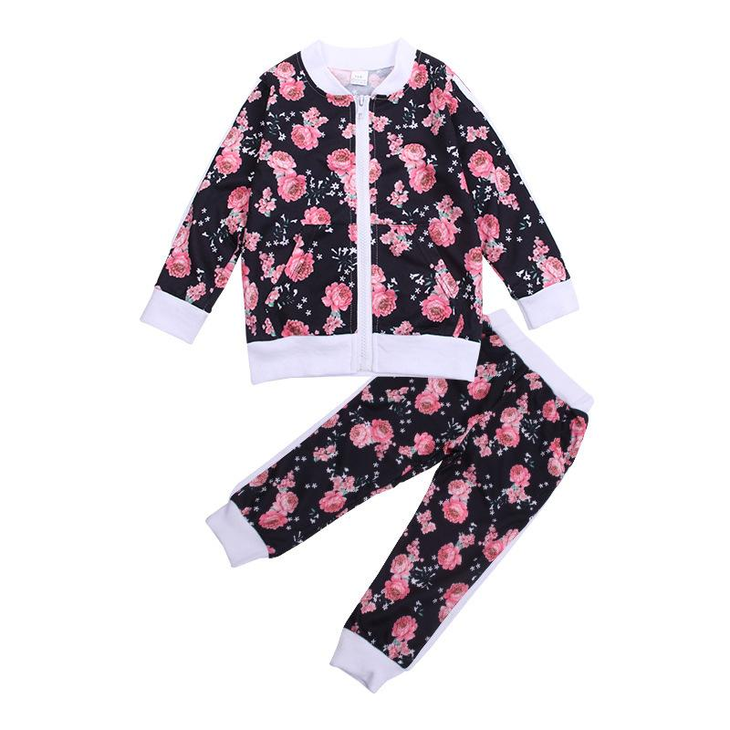 Baby / Toddler Floral Top and Pants Set