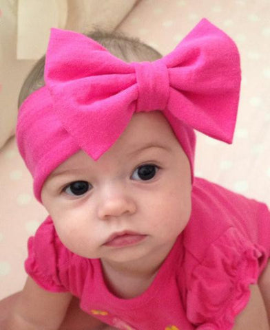 New Fashion Baby Fabric Bow Headband