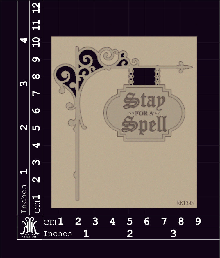 KK1395 Stay For A Spell