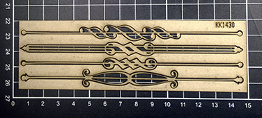 KK1430 Art Deco Borders