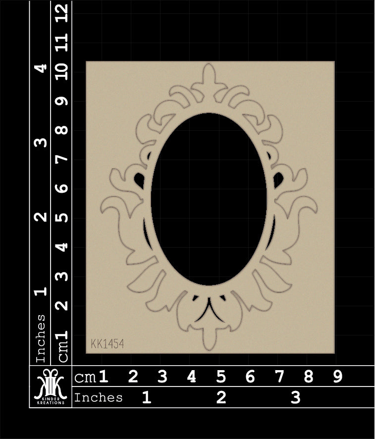 KK1454 Damask Frame Version3