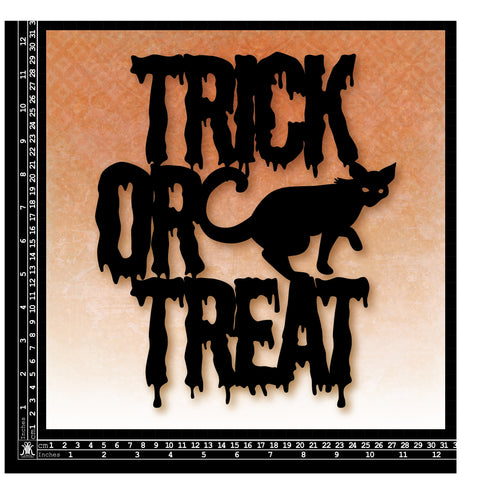 KK1724 12x12 Trick or Treat page kit