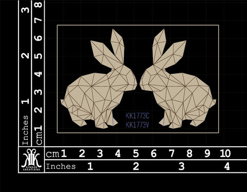 KK1773 Geometric Rabbits