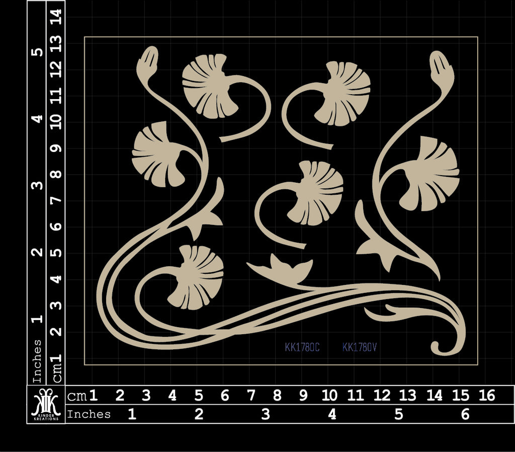 KK1780 Flower flourish 2