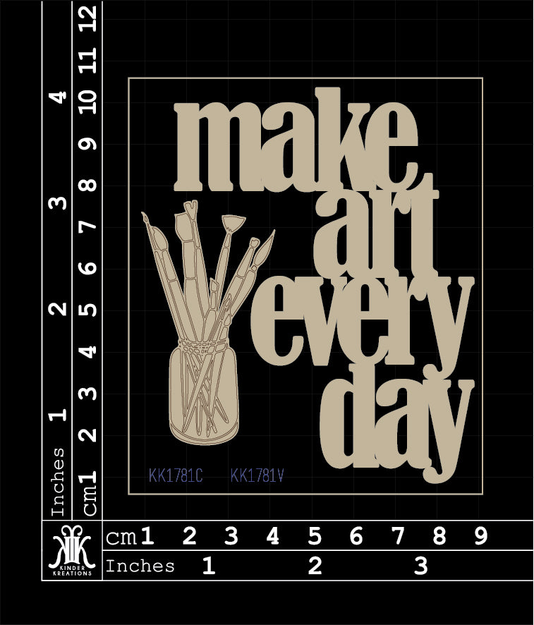 KK1781 Make art everyday