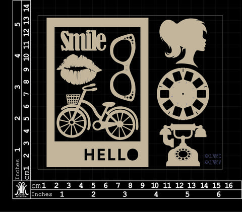 KK1786 Smile Hello