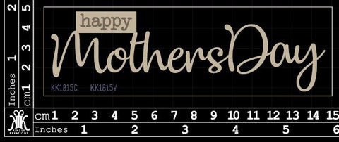 KK1815 Happy Mothers day
