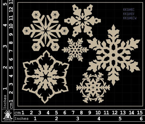 KK1849 Snow flakes