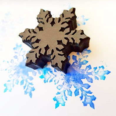 KK1865 Snow flake V2 stamp (set)