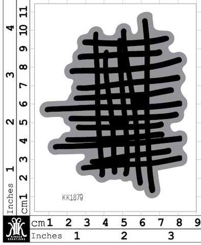 KK1879 - Lisa Oxley hand drawn Grid