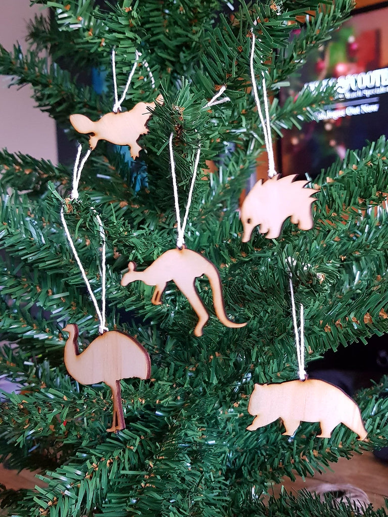 Christmas Ornaments - Aussie critters