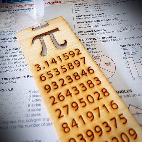 Bookmark - Easy as Pi