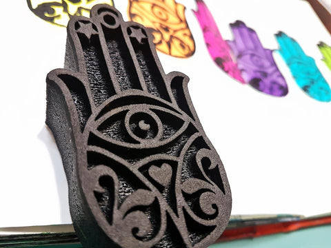 KKS700 Hand of Fatima Foam Stamp