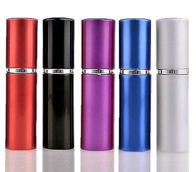Wholesale Aluminum Atomizer - 10 ml - with Refillable Glass Tank