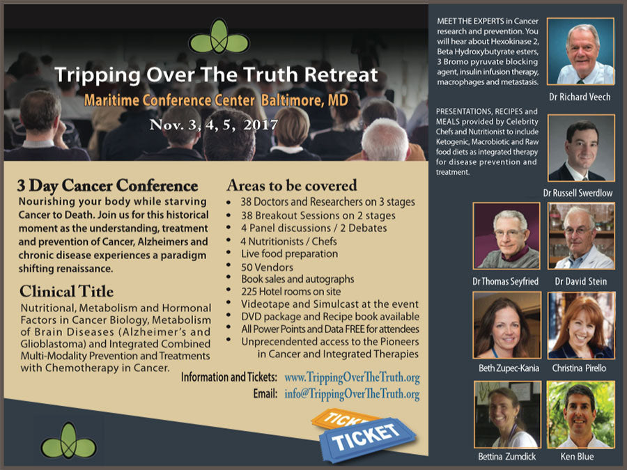 Tripping Over The Truth – 3 Day Conference on Hormones, Cancer and Alzheimer