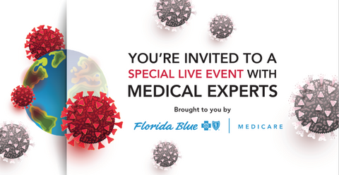 Organic Excellence, GrowingBolder.com and Florida Blue Medical Expert Live Event on Coronvirus