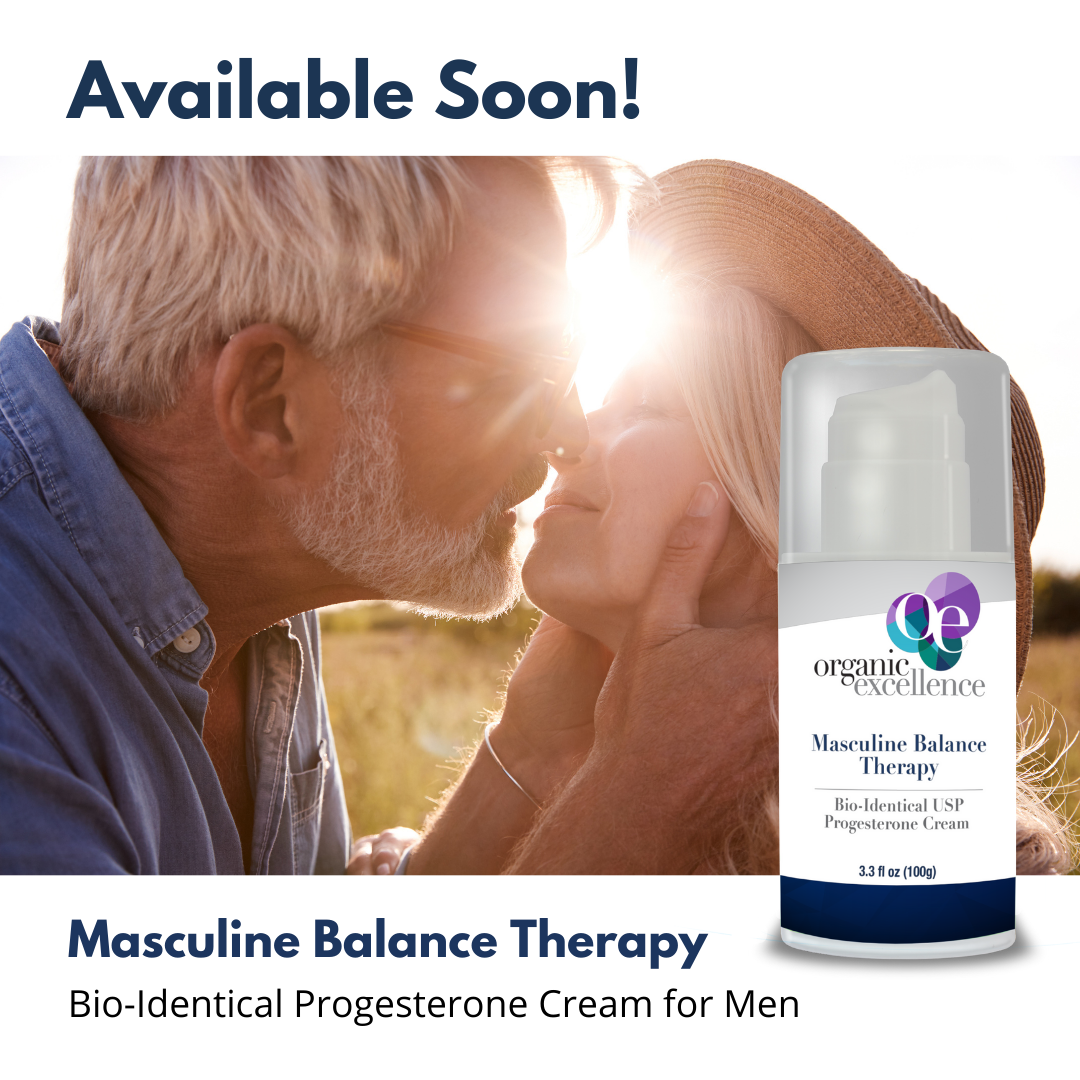 Masculine Balance Therapy Bio-Identical Progesterone Cream is Available Soon