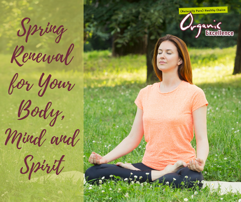Spring Renewal for Your Body, Mind and Spirit