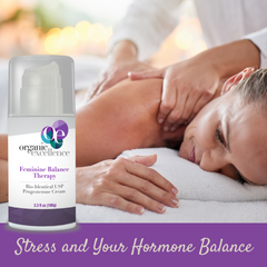 Stress and your hormone balance - USP Bio-Identical Progesterone Cream