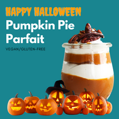 Happy Halloween Pumpkin Pie Parfait