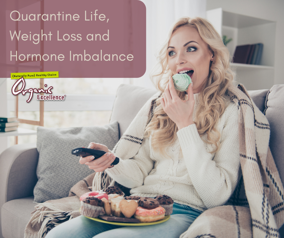 Quarantine Life, Weight Loss and Hormone Imbalance