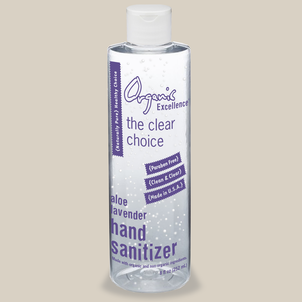 Organic Excellence Hand Sanitizer Gel , Protect Against COVID-19, Coronavirus