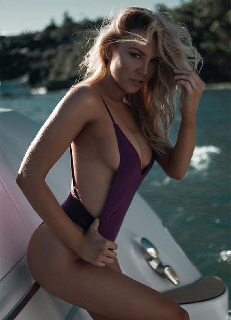 Luxton One Piece - Plum