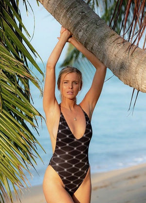 Luxton One Piece -Diamond Print