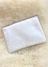 Beach Clutch - White
