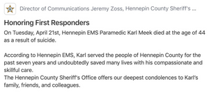 Mental & Emotional Health in EMS