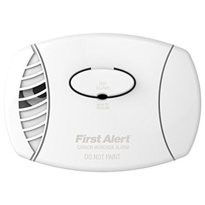 First Alert Carbon Monoxide Plug-In Alarm with Battery Backup