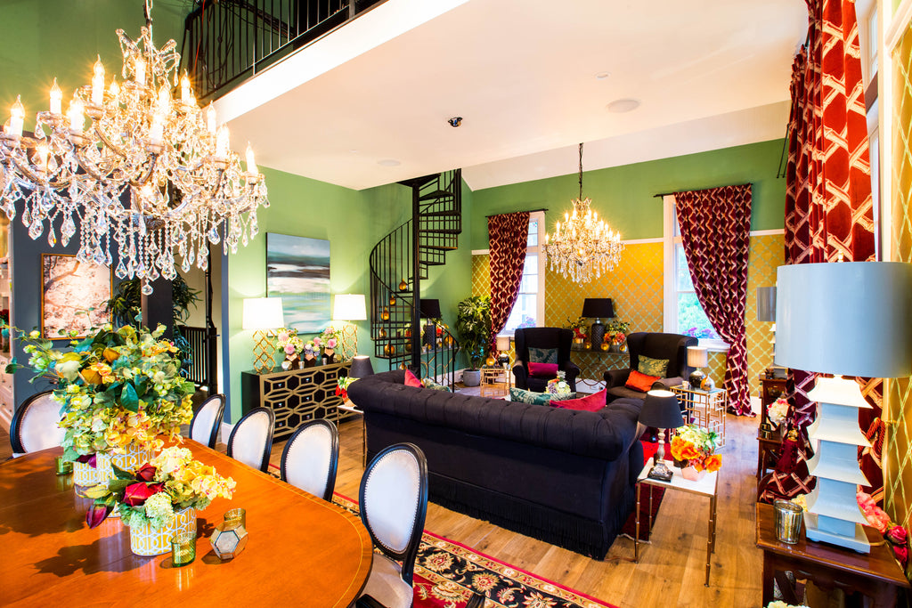 The Bachelor Mansion Series 6: Set Designers show us how to successfully mix trends
