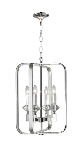 Allure Chandeliers - Silver Plated - COLLECTION