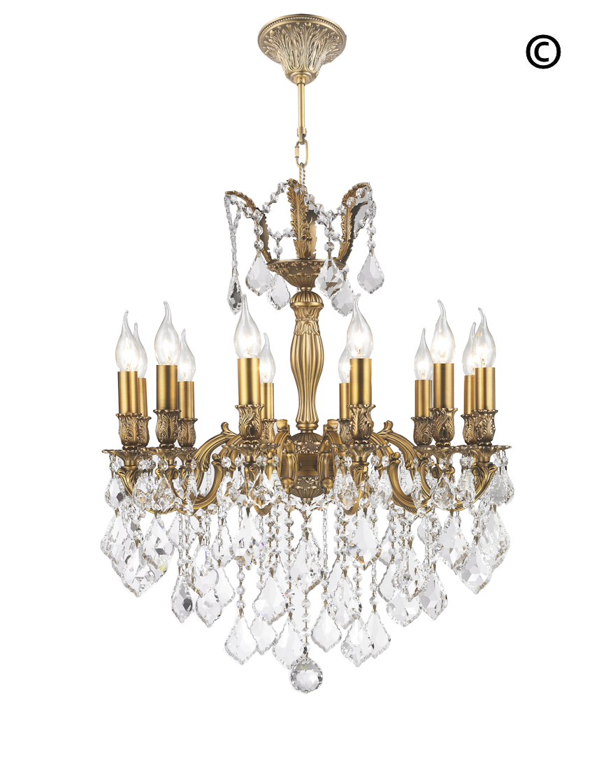 Americana Chandeliers - Brass Finish - COLLECTION