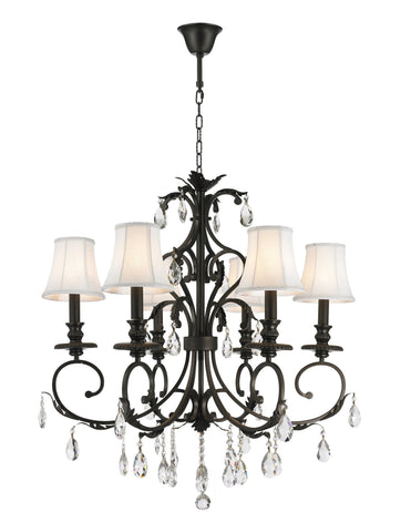 Aria Hampton Chandeliers - Dark Bronze - COLLECTION