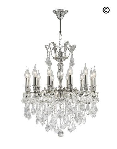 Americana Chandeliers - Silver Plated - COLLECTION