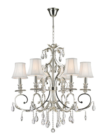 Aria Hampton Chandeliers - Silver Plated - COLLECTION