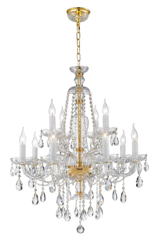 Bohemian Brilliance Chandeliers - Gold - COLLECTION