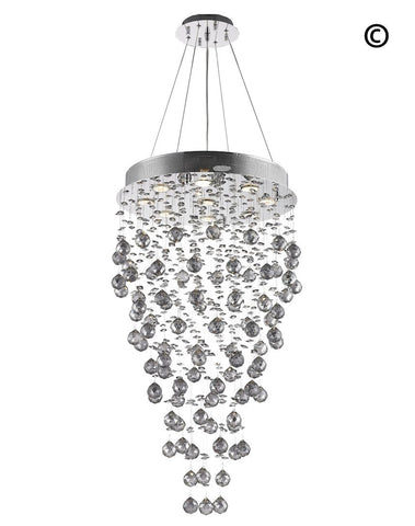 Round Cluster Chandelier - COLLECTION