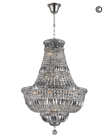 Empress Basket Chandeliers - Smoke - COLLECTION